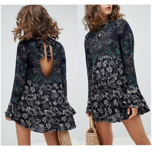 Free People Revolve Lady Luck Tunic Dress